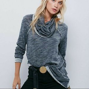 Free People Beach Statement Slouchy Sweater